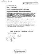 Don Kerrick to Tony Lake re Dayton SITREP 12 November 17, 1995, 11:10am