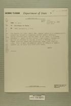 Telegram from Edward B. Lawson in Tel Aviv to Secretary of State, Nov. 2, 1955