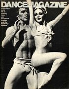 Dance Magazine, Vol. 47, no. 9, September, 1973