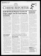 Cheese Reporter, Vol. 132, No. 6, Friday, August 10, 2007