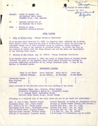 Report of Council for the Sanitary Water Board, November 20-21, 1962, Meeting