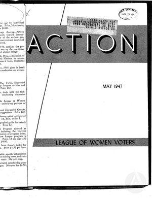 Action, vol. 3 no. 3, May 1947