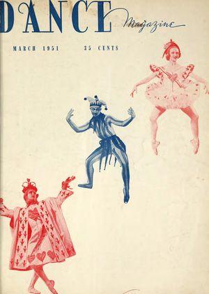Dance Magazine, Vol. 25, no. 3, March, 1951