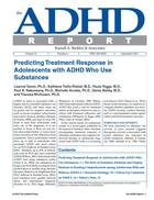 ADHD Report, Volume 21, Number 06, December 2013