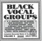 Black Vocal Groups Vol. 9 (1929-1942)