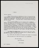 MG to Barrie Reynolds, 7 Mar. [1958]