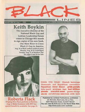 BLACKlines, Vol. 1 no. 7, August 1996
