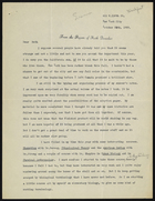Letter from M. Loomis to Ruth Benedict, October 28, 1939