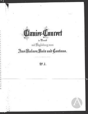 Clavier-Concert I