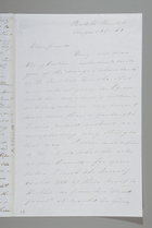 Letter from Sarah Pugh to Maria Weston Chapman & Emma Weston, August 31, 1852
