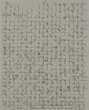 Letter from Anna MacArthur Wickham to Mary Anne Leslie Davidson, July 1, 1837