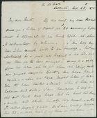 Letter from Eliza Howitt to My dear Edith, November 25, 1875