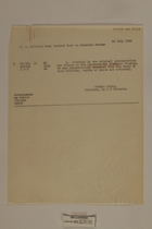 Border Control Documents by Sumner Sewall, July 1946