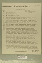 Telegram from Edward B. Lawson in Tel Aviv to Secretary of State, August 18, 1956