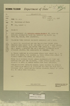 Telegram from Edward B. Lawson in Tel Aviv to Secretary of State, August 17, 1956