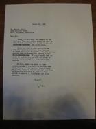 Stanley Milgram to Robert Frager, August 11, 1966