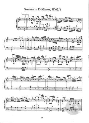 Sonata in D Minor, Wq.62/4, D Minor