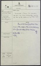 Correspondence re: Statement of Fidel Castro on Shelling of Havana, August 1962