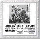 Fiddlin' John Carson: Complete Recorded Works In Chronological Order, Vol. 2