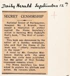 Secret Censorship