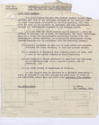 Memo from David Heron to Colin D.B. Ellis re: Minister's Report to the War Cabinet for the Four Weeks Ended 26 September, 1942