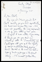 JGF to Edward Clodd, 2 Jan 1925