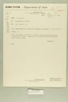 Telegram from Eric Wendelin in Jerusalem to Secretary of State, October 10, 1960