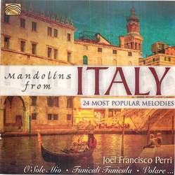 Mandolins From Italy: 24 Most Popular Melodies  Album Art