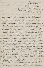 Letter from Ellie Love MacPherson to Robert and Maggie Jack, October 14, 1894