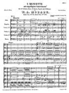 2 Menuette, K. 463, F Major
