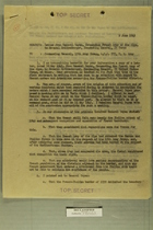 Memo from Lt. Gen. L. K. Truscott to Commanding General, 15th  Army Group, on French Attempt to Occupy No. Italy, June 2, 1945