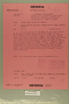 Confidential Message from USARMA Amman Jordan SGD Sweeney to DEPTAR Wash DC for ACSI, USARMA TelAviv Israel, September 11, 1956