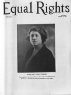 Equal Rights, Vol. 11, no. 49, January  17, 1925