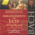 Arrangements for Lute: BWV 995, 1000, 1006a