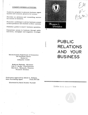 Public Relations and Your Business