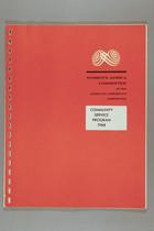 Community Service Program, 1968