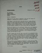 Letter from Theodore L. Eliot, Jr. to Armin H. Meyer, February 24, 1969