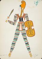 Aiax I, 1928 (w/c on paper)
