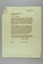 Letter from Mary van Kleeck to Susan B. Anthony (II), January 21, 1946
