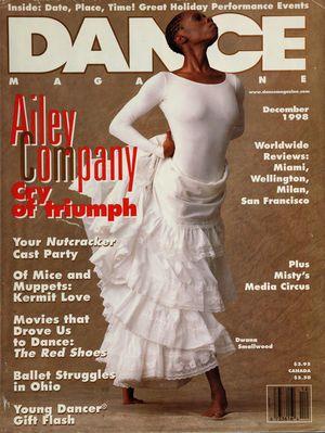 Dance Magazine, Vol. 72, no. 12, December, 1998