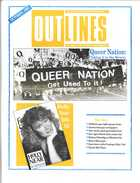 OUTLINES THE VOICE OF THE GAY AND LESBIAN COMMUNITY VOL. 4, No. 5, OCT., 1990