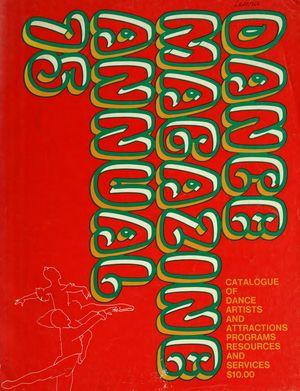 Dance Magazine Annual, 1975