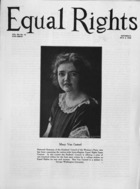 Equal Rights, Vol. 12, no. 12, May 02, 1925