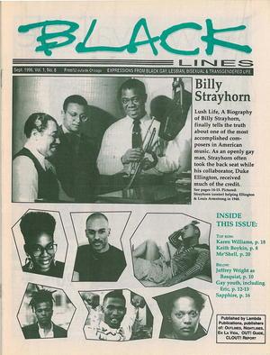 BLACKlines, Vol. 1 no. 8, September 1996