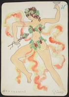 Bachansno, 1928 (w/c on paper)