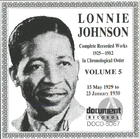 Lonnie Johnson Vol. 5 (1929-1930)