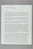 Letter from Anna Lord Strauss to Carrie Chapman Catt Memorial Fund, August 18, 1953