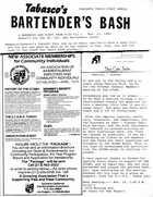 Bar Rag News Letter, Nov. 1983