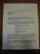 Stanley Milgram to Postmaster General, Singapore, Malaysia, May 7, 1964