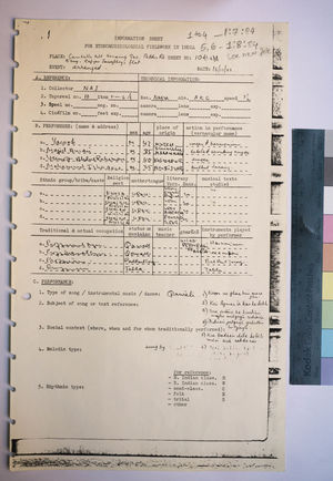 1-8-84 Information Sheets